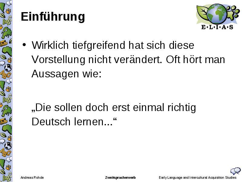 doch lernen deutsch