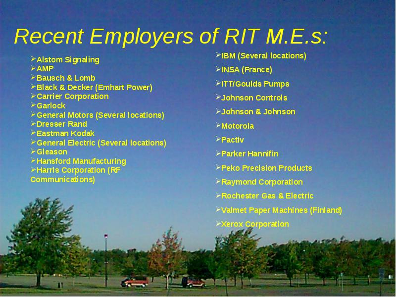 Mechanical Engineering at rit is it the right choice for you